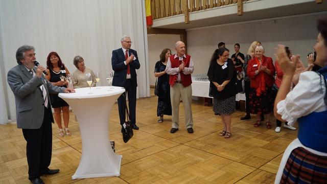 Begrüssung der Gäste beim Galadinner - Thomas Jaeger