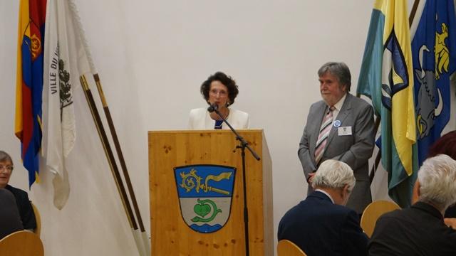 Galadinner - Ansprache Anne-Marie Borderie