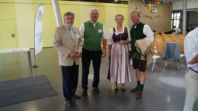 Thomas Jaeger, Jakob und Huberta Rohrmoser, Hansjörg Obinger